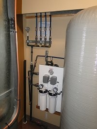 Water treatment equipment in Langley
